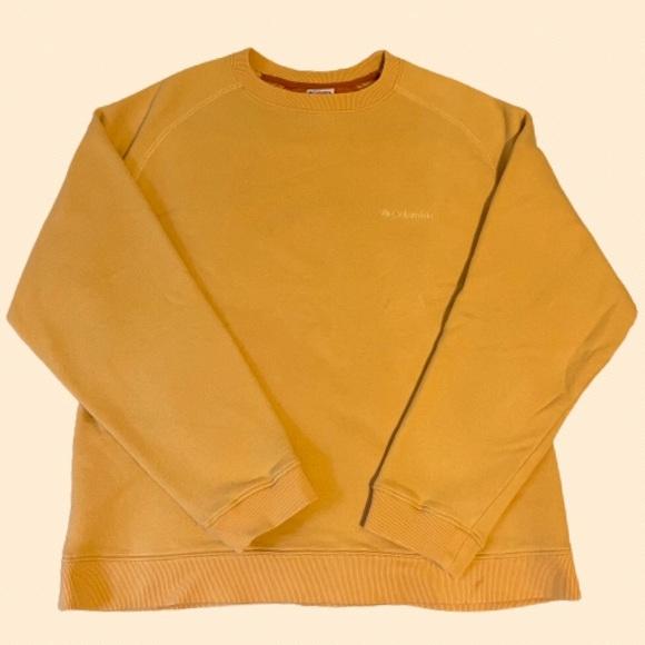 Columbia M Sweatshirt in Gold